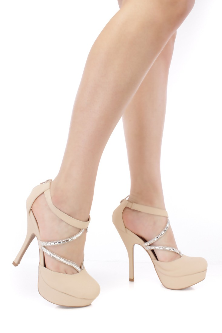 Closed Toe Nude Heels EEh3eKTN