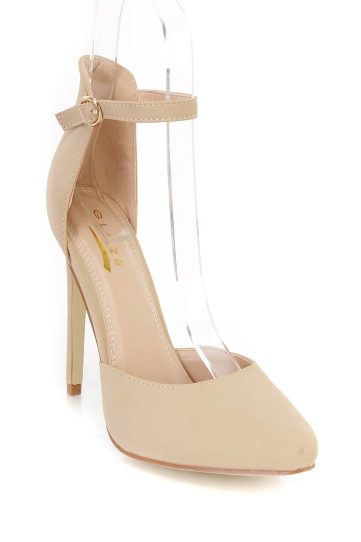 Closed Toe Nude Heels vbJIYDif