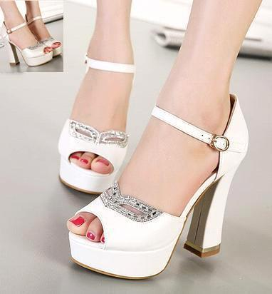 Comfortable White Heels F89i8w2z