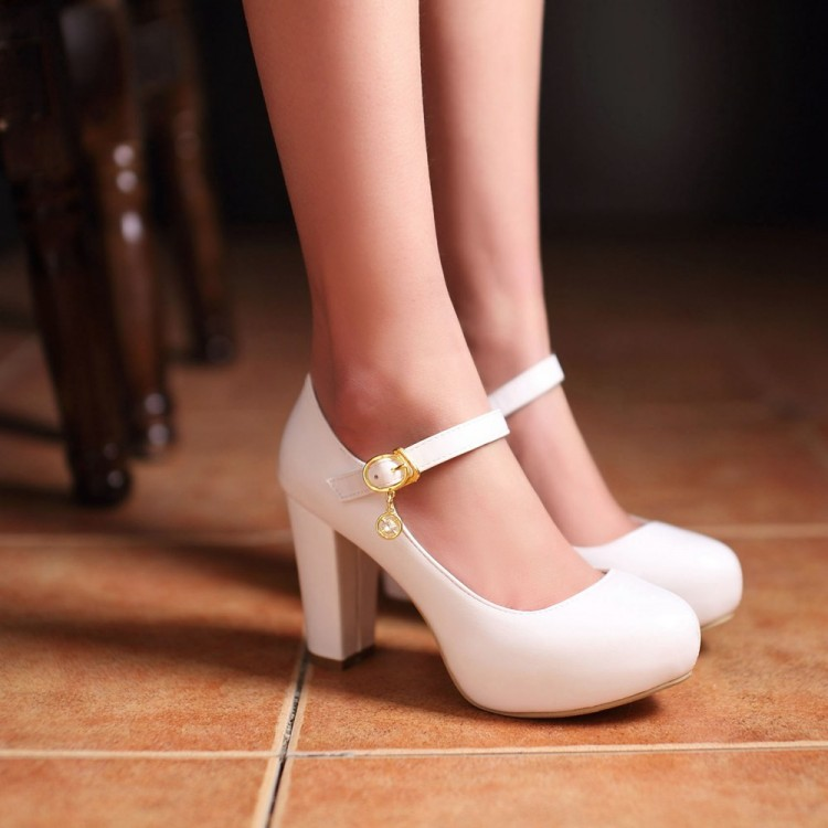 Comfortable White Heels Eawyd8wo