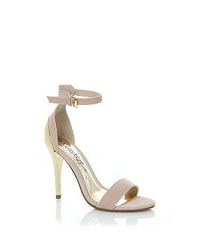 Cream Heels With Ankle Strap Ts9M7QSn