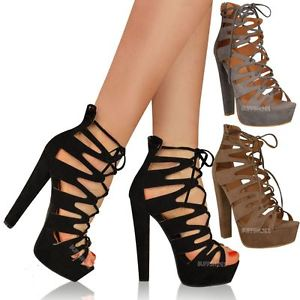 Gladiator High Heel Shoes 5D7YF9JL