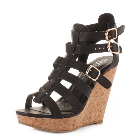 Gladiator Wedge Heel Sandals SMlj6R9K