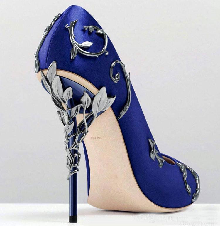 Gold And Blue Heels fVkbgZ9P