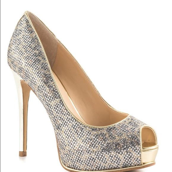 Gold And Silver Heels QIdUiNdC