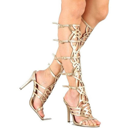 8e151c9e1d75 Gold Gladiator Sandals With Heels v2OoL3LU