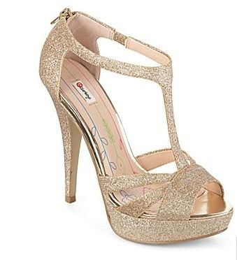 Gold High Heels For Prom X43d17X4