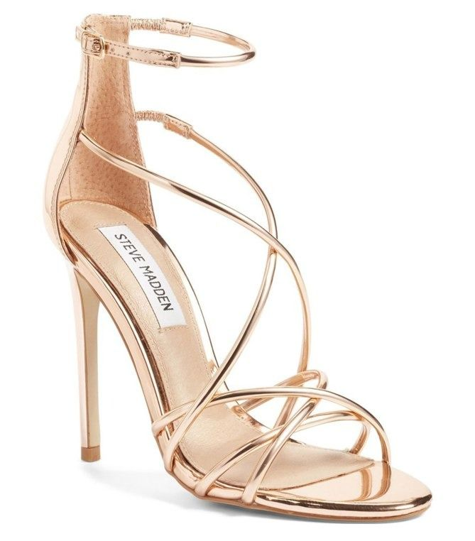 Gold High Heels For Prom a3hfV50M