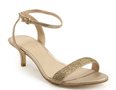 Gold Kitten Heel Sandals 1mzdUZO9
