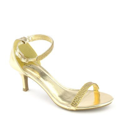 Gold Low Heel Dress Shoes WpB7XfzF