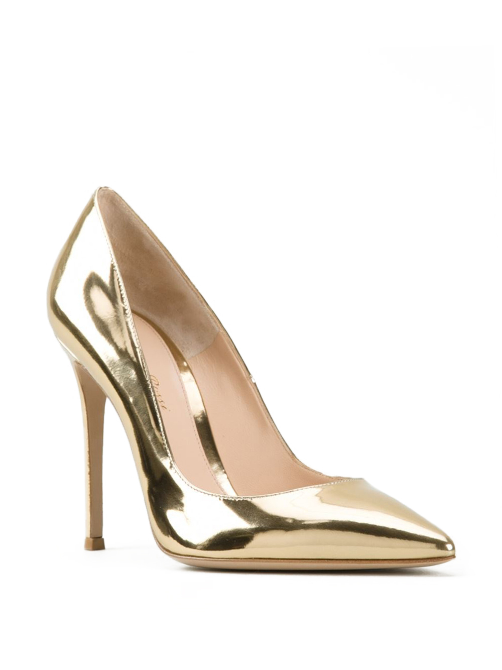 Gold Metallic Heels 1qJtTe0O