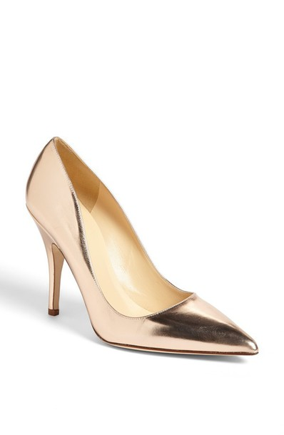 Gold Metallic High Heels yd5R2XTT