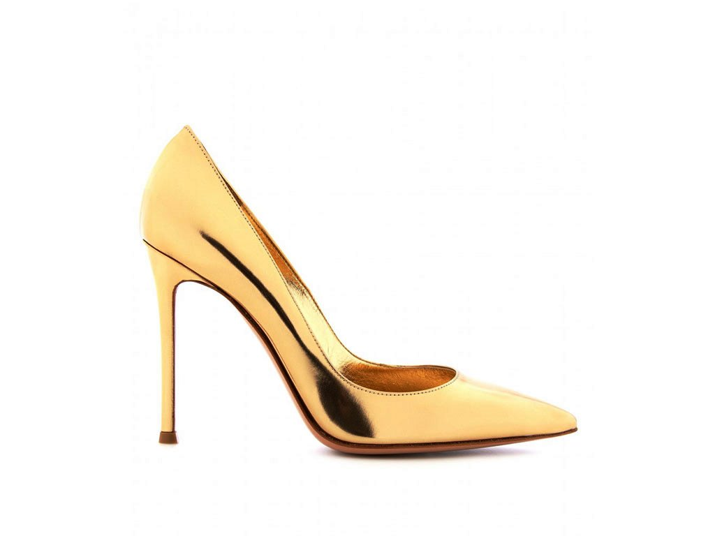 Gold Metallic High Heels ZNdkAx5b