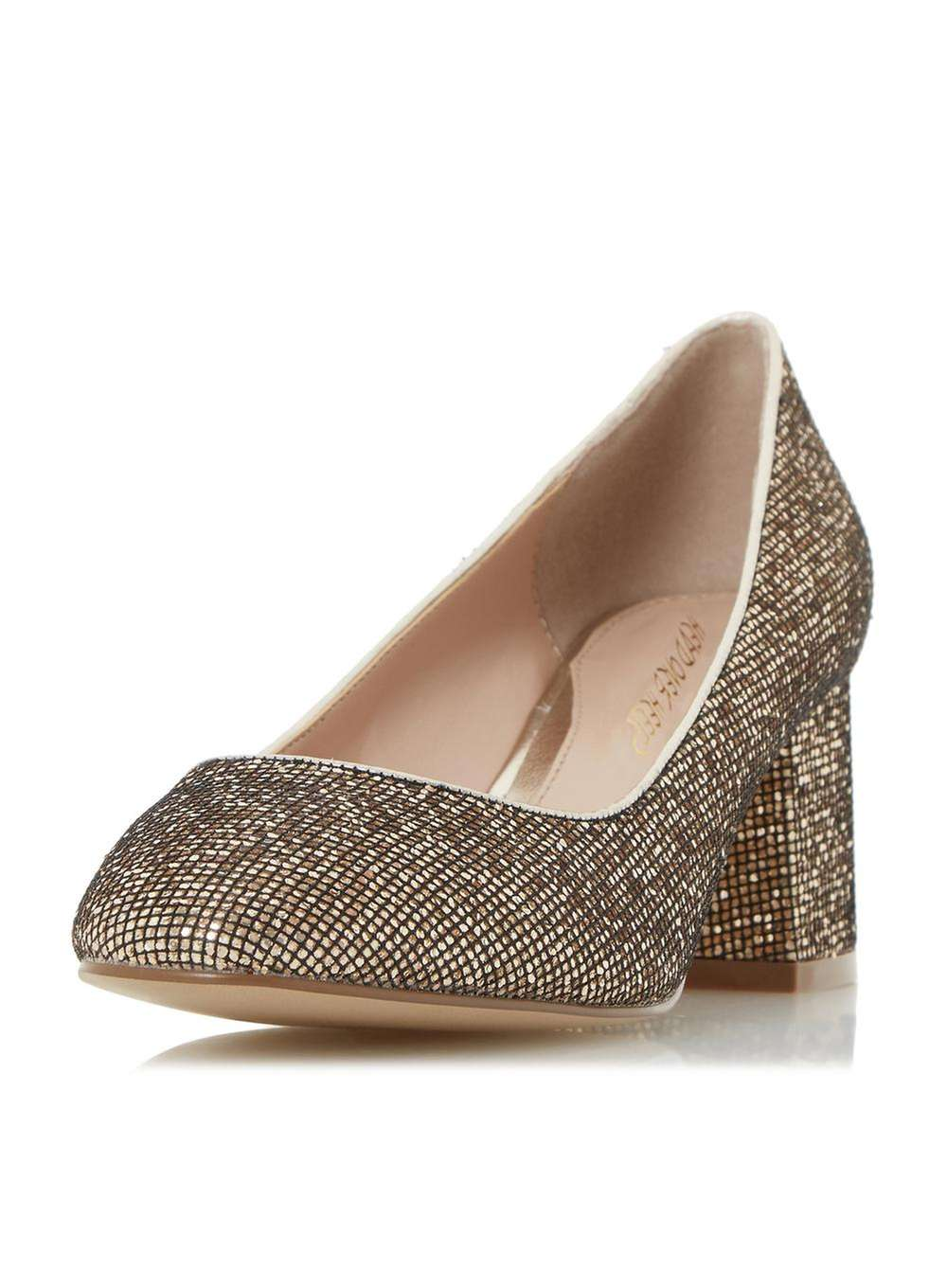 Gold Mid Heel Shoes Znu6rF5K