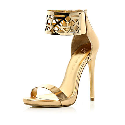 Gold Sandals With Heels SkpIOdXK
