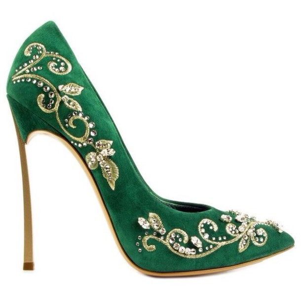 Green And Gold Heels PepIj0Mc