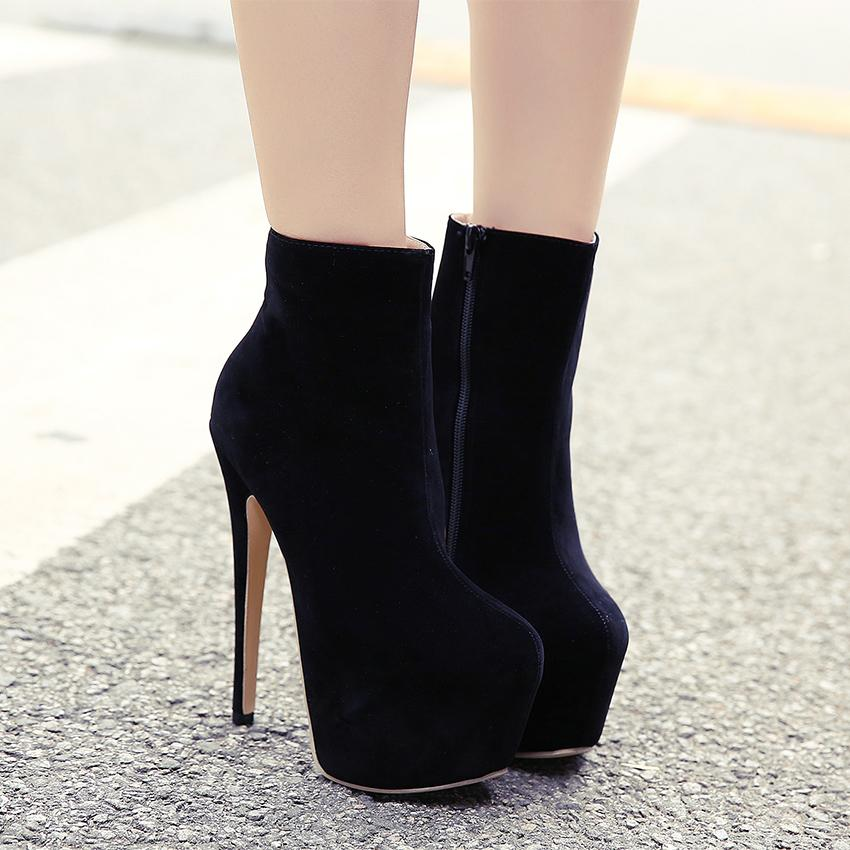 High Heel Ankle Boots MUchBy1w