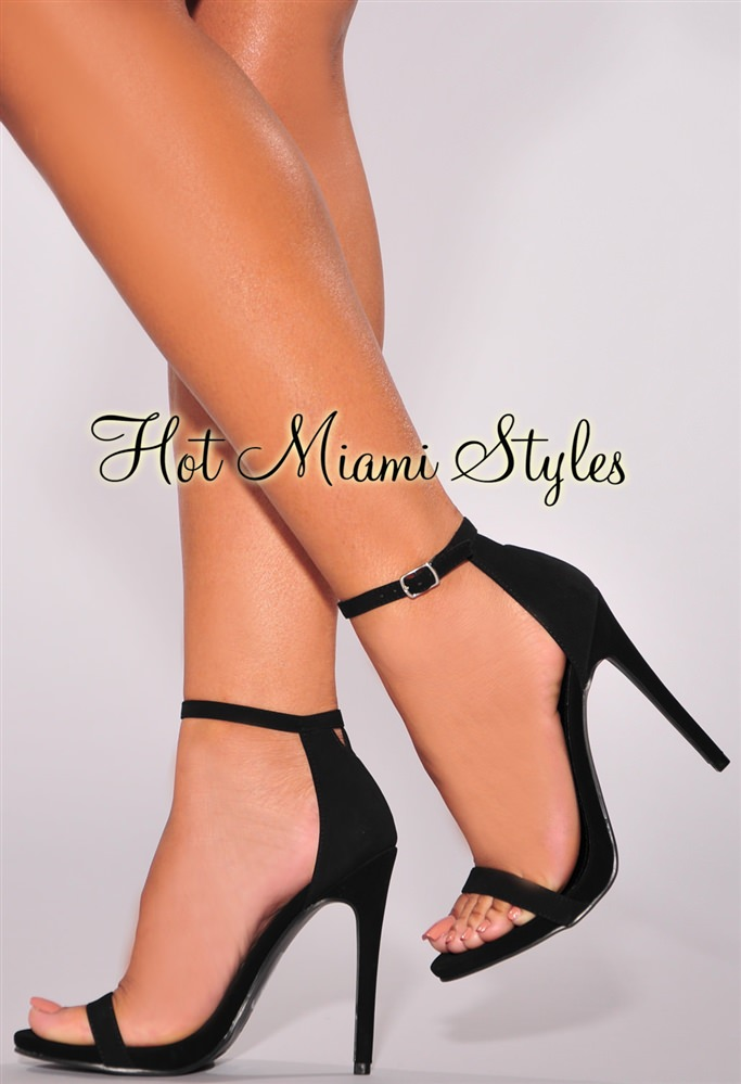 High Heel Ankle Strap Sandals fJFrEKrC