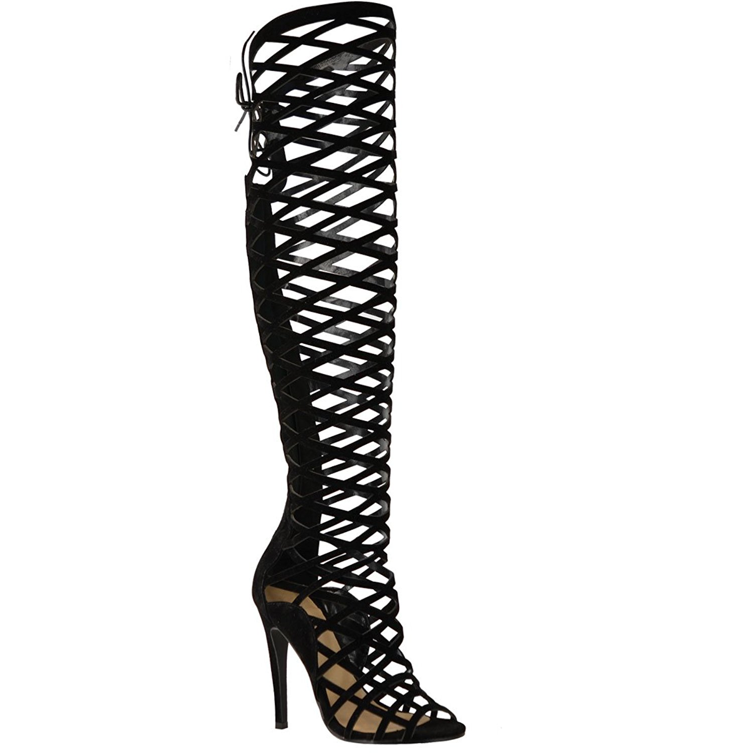 High Heel Gladiator Boots bjQ0qca6