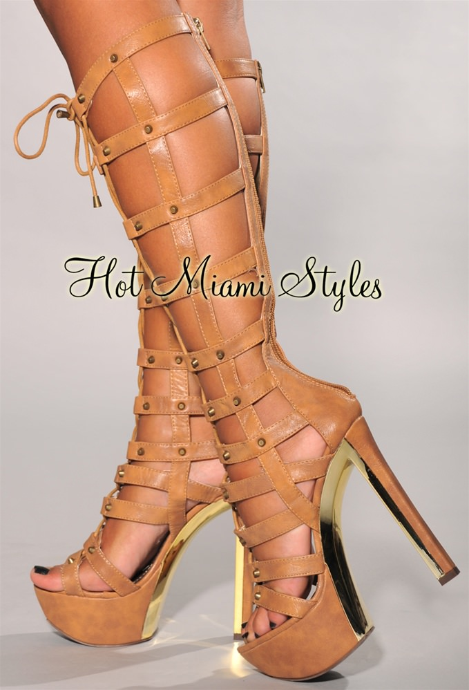 High Heel Gladiator Boots j0iaR6fT