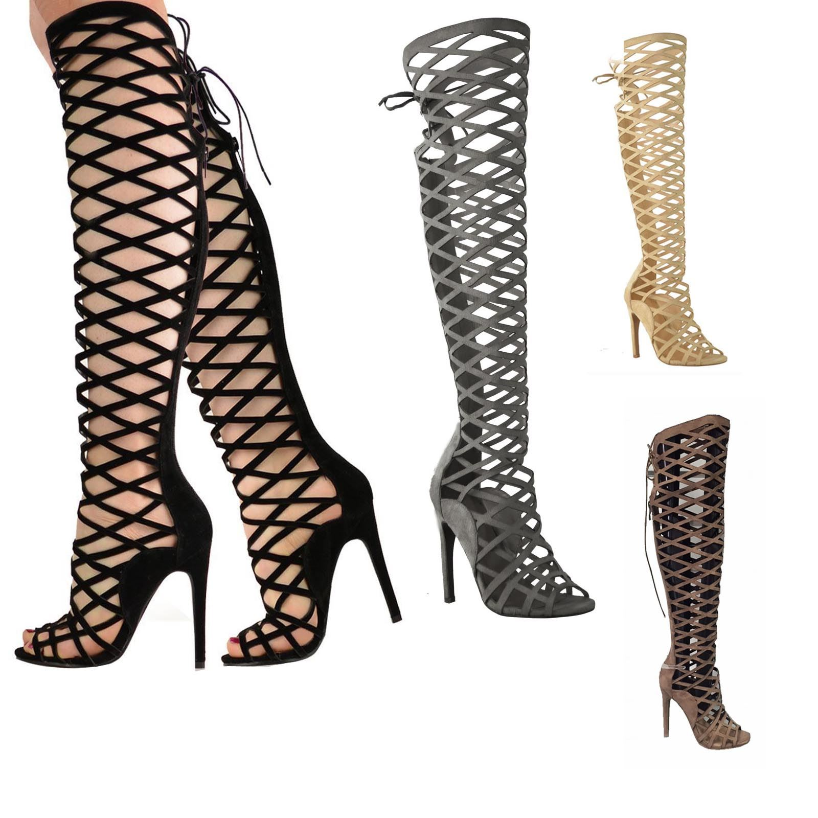 High Heel Gladiator Boots IGTWfTO1