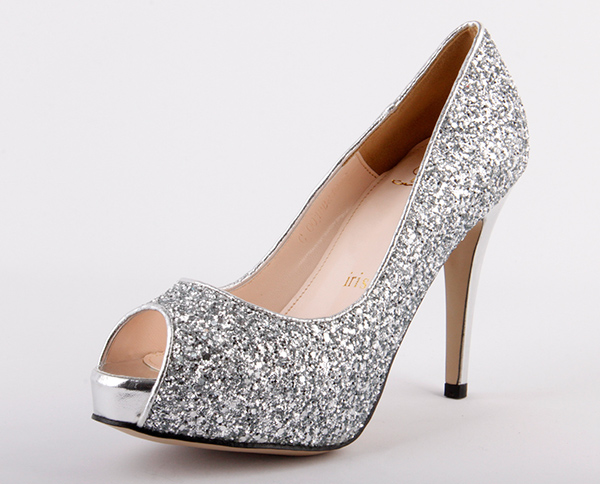 High Heels Silver Sparkle Ts5xwhop