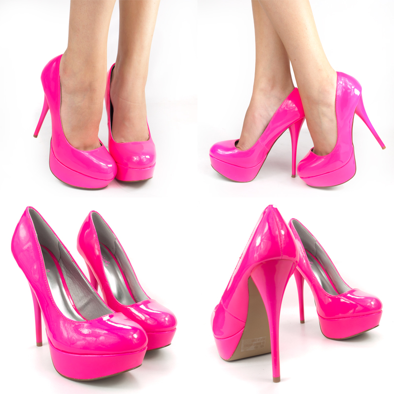 Hot Pink High Heel Sandals r5Krdt8S