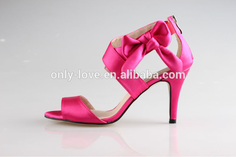 Hot Pink High Heel Sandals 9wfCcQaO