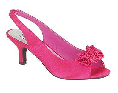 Hot Pink Low Heels YMtP5gbY