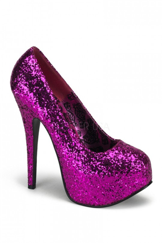Hot Pink Sparkly Heels AD9H7hBh