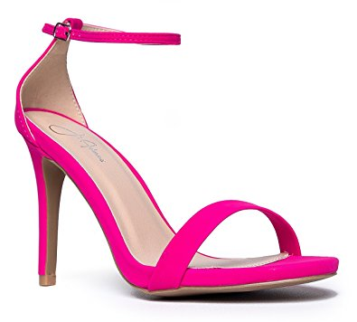 Hot Pink Strappy Heels eJ61QVSU