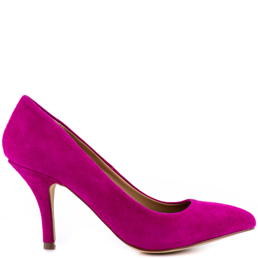 Hot Pink Suede Heels 1IV7QtBy