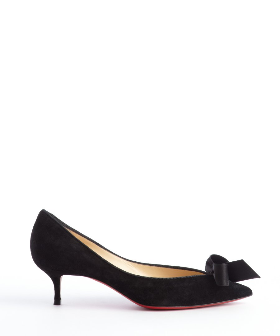 Kitten Heel Black Pumps DRzVeo4f