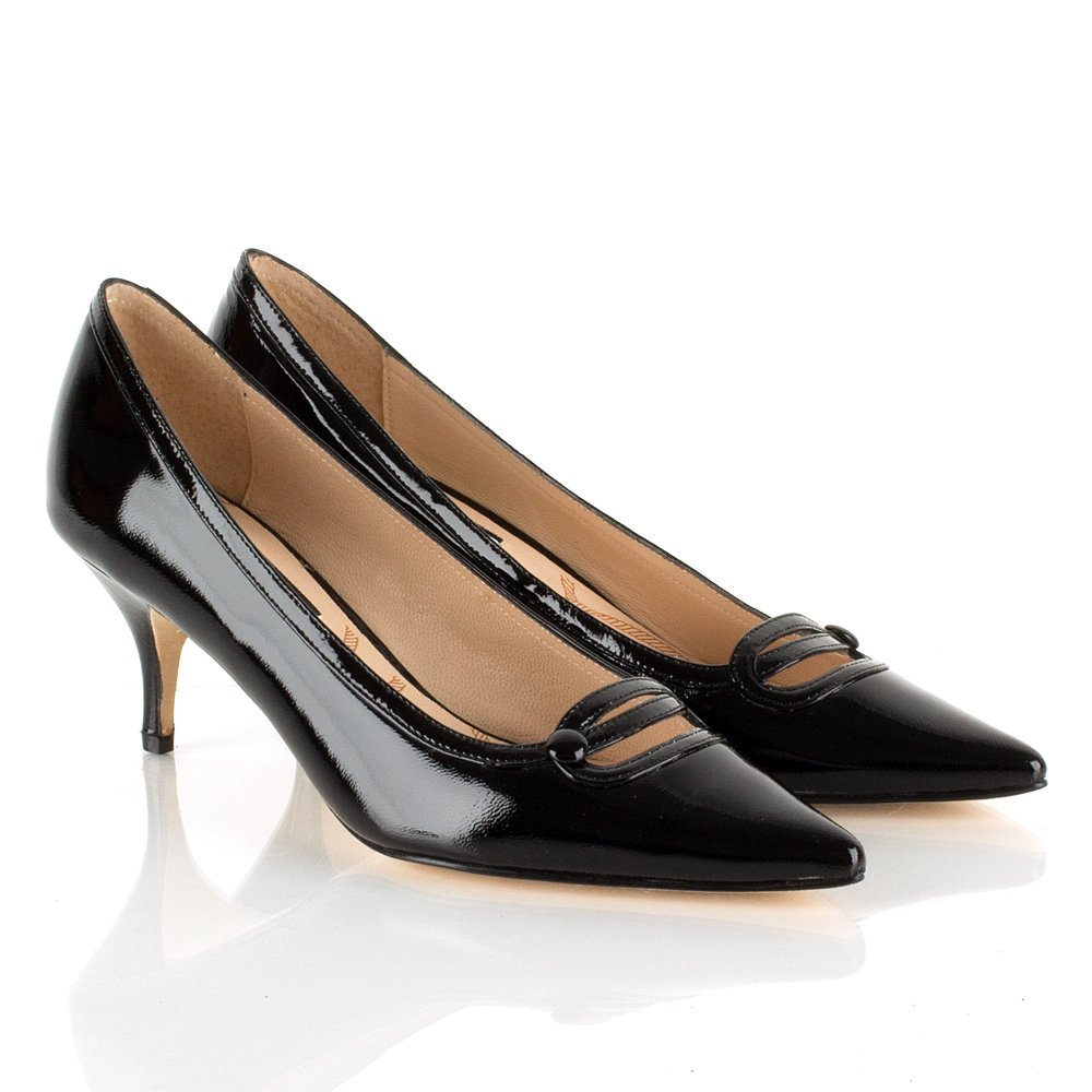 Kitten Heel Black Shoes CRrHXQq0