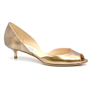 Kitten Heel Gold Shoes pK51ij6Q