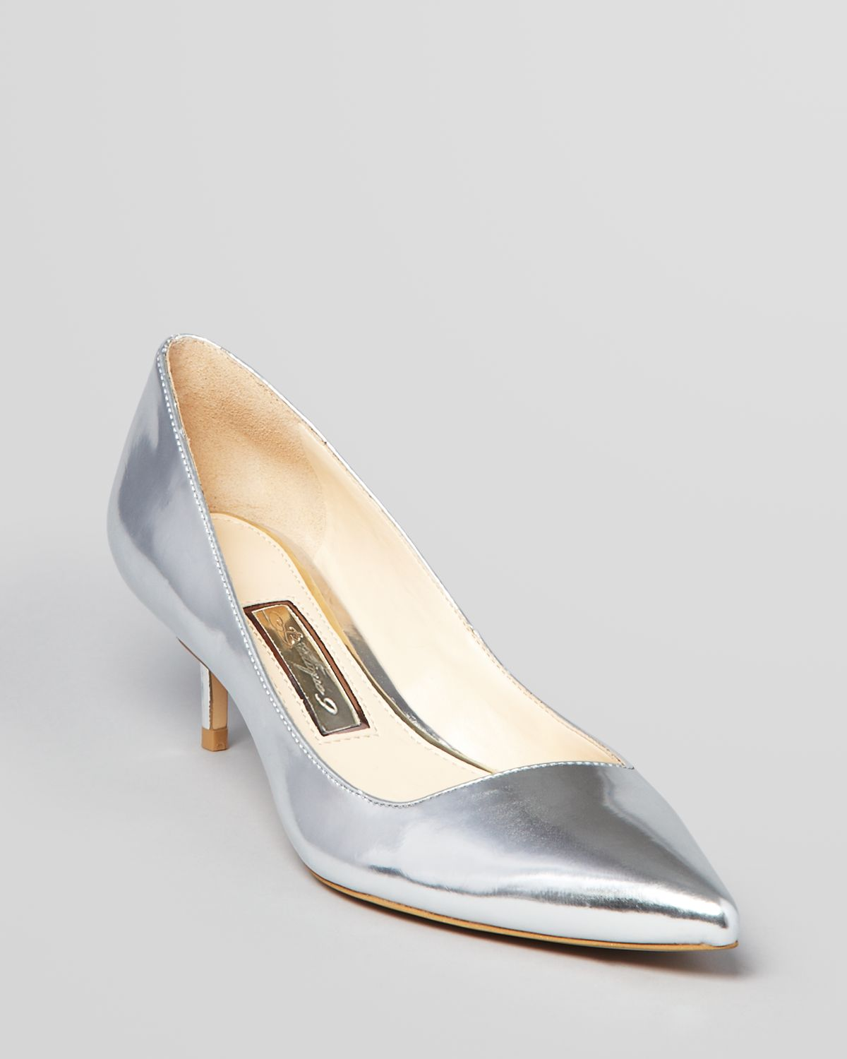 Kitten Heel Silver Shoes OlIw9GZj