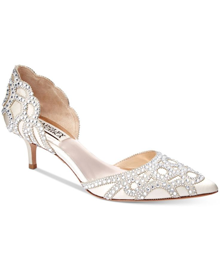 0d0affe178a Kitten Heel Wedding Shoes - Heel Direct