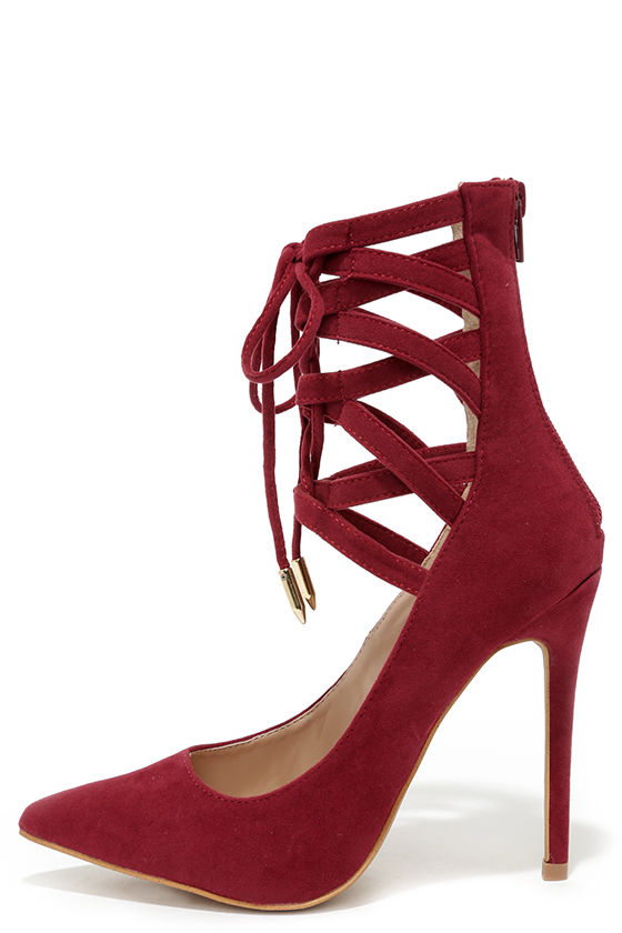 Lace Red Heels KY6oOsBp