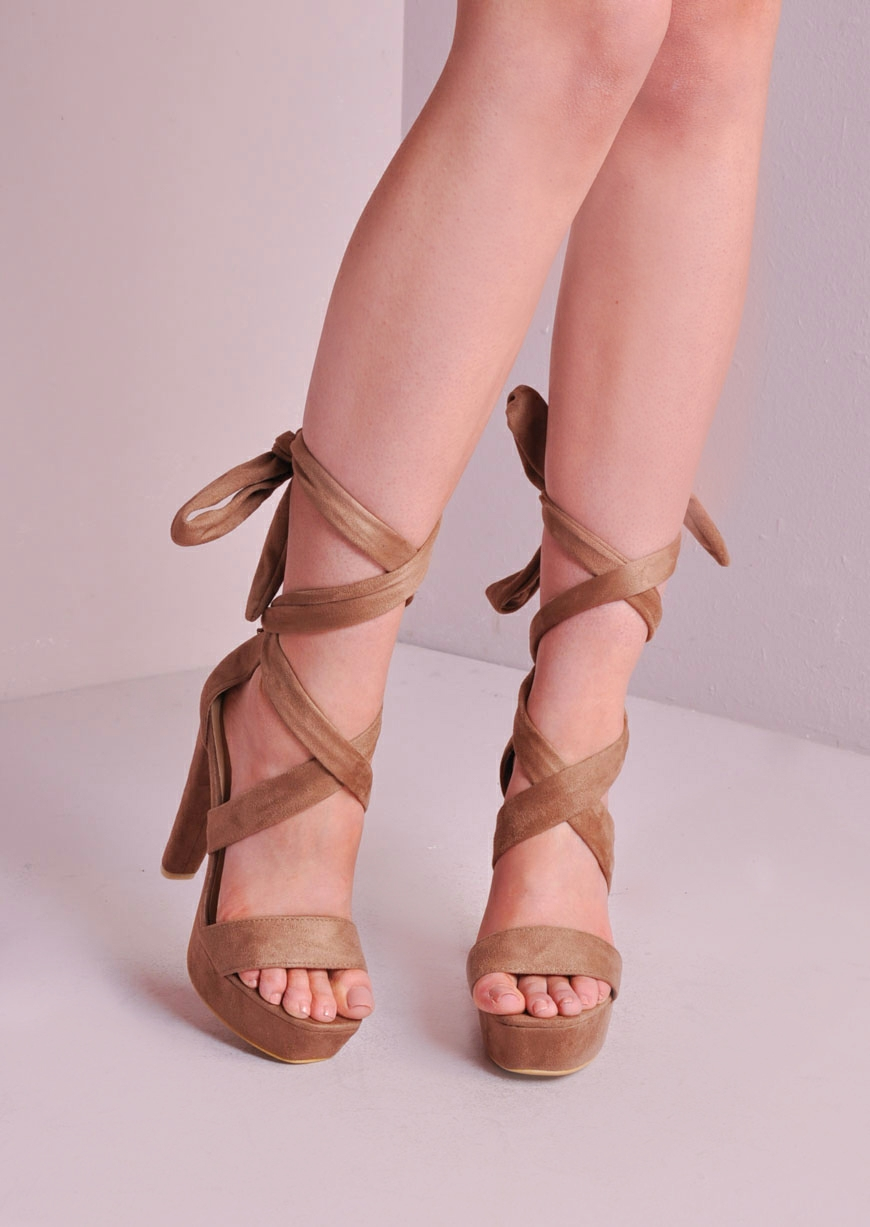 Lace Tie Up Heels 3Bp0j5il