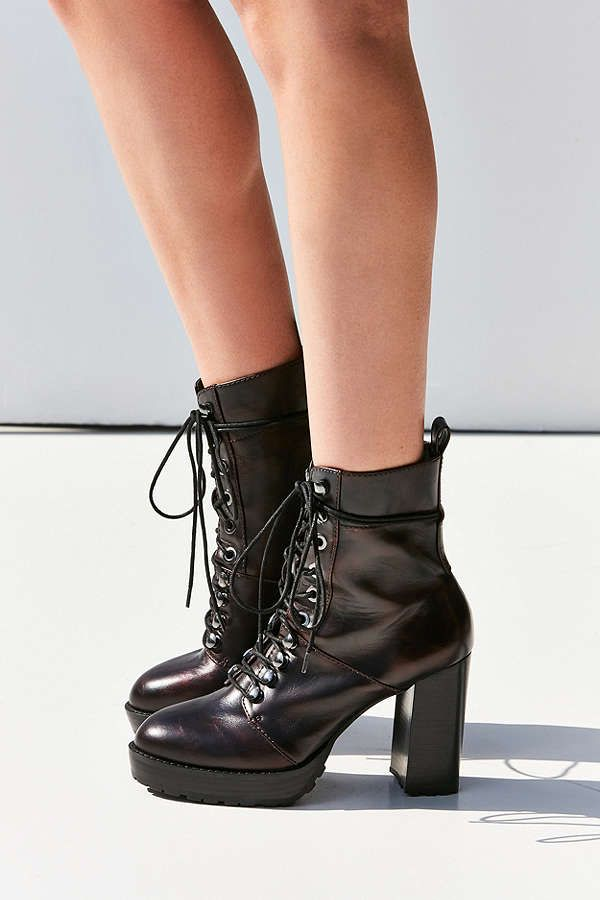 Lace Up Ankle Boots Heels PkE4ZmUl