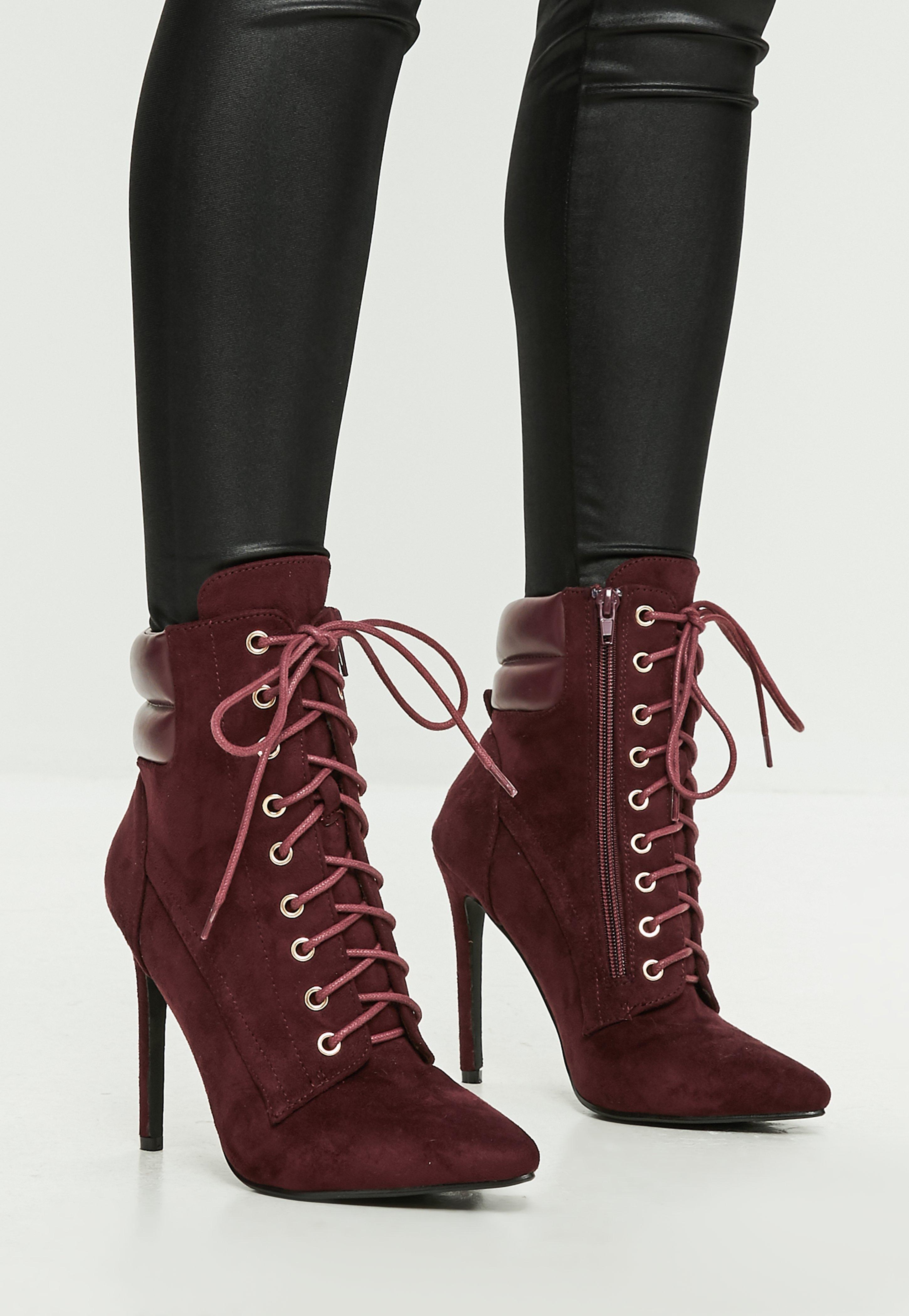 Lace Up Heel Boots rnb5Vjav
