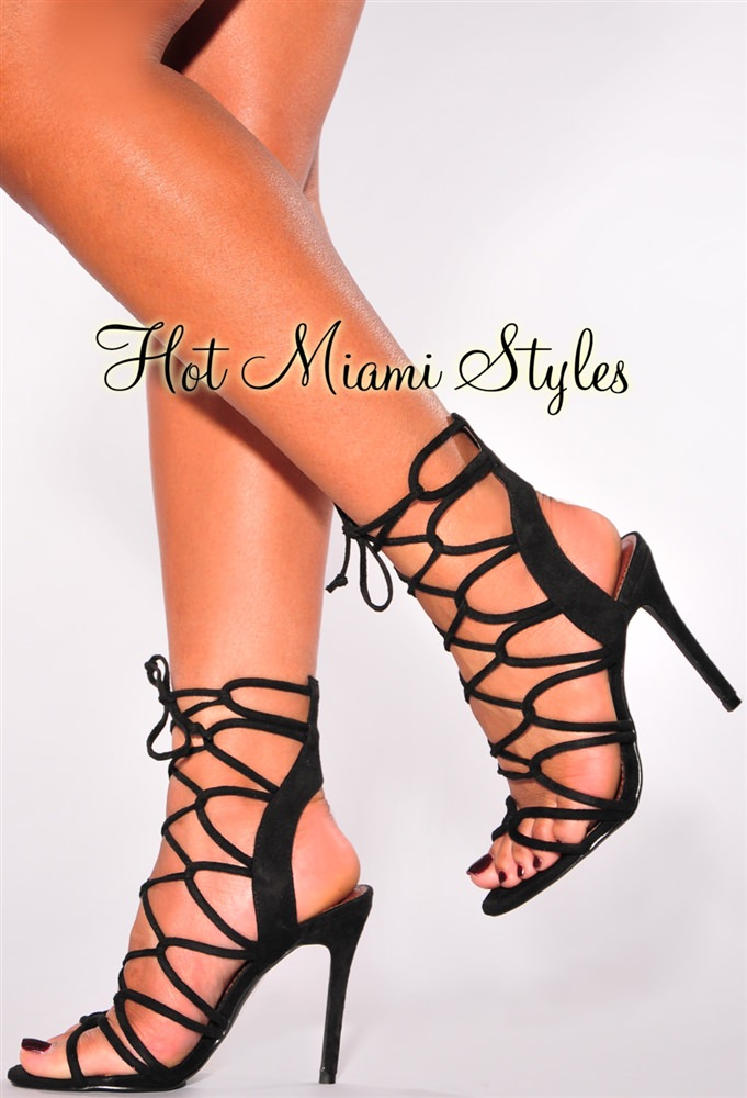 Lace Up High Heels 71bJR5ea