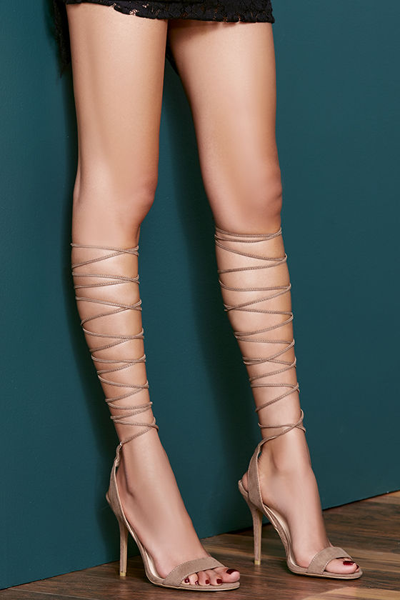 Lace Up The Leg Heels xD4K78DR