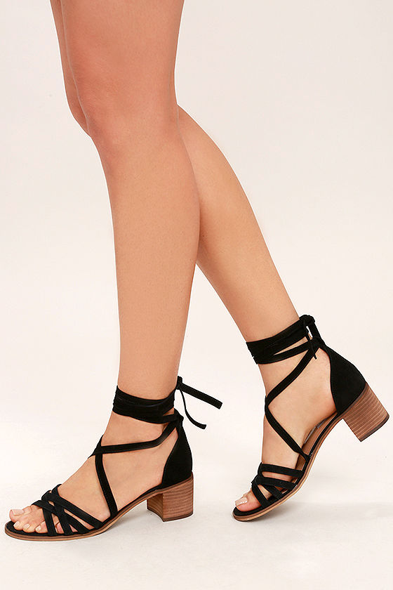 Leather Lace Up Heels jrW9hIfn