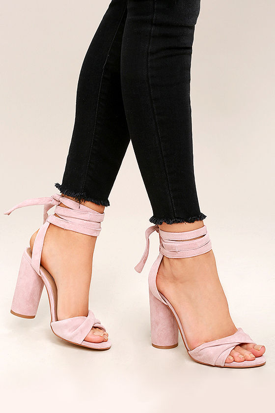 Leather Lace Up Heels f3aZe0gc