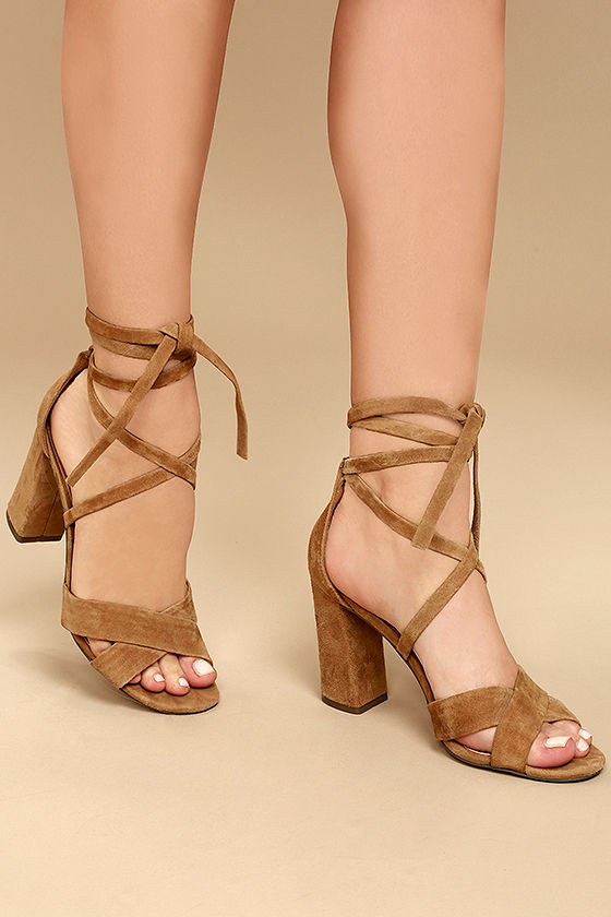 Leather Lace Up Heels 1At6bXi3