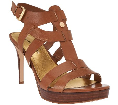 Leather Strappy Heels iUe70Wgc