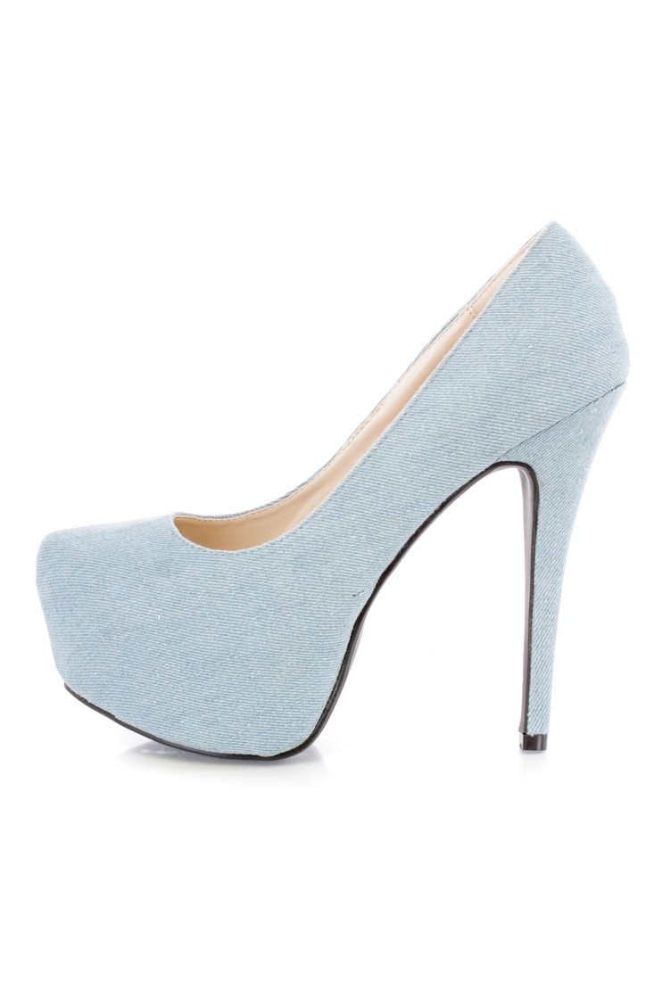Light Blue Shoes Heels 5Tk6bkss