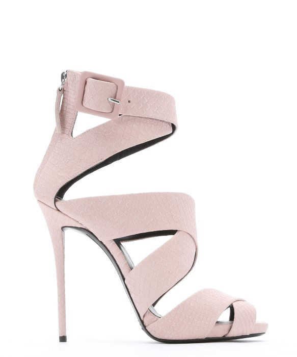 Light Pink Strappy Heels SAd3CEva