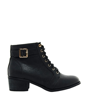 Low Heel Lace Up Boots sUCXREIY